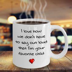 Favorite Child mug  #gift#dad #mom #parent $14.95