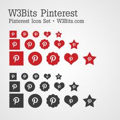 Download Free Pinterest Icons
