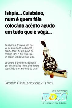 Parabéns Cuiabá, querida! ♥