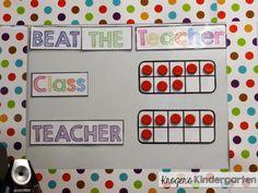 Simple, FUN game to practice spelling words!