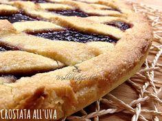 #crostata con #marmellata di #uva - Mollichedizucchero