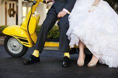 vespa wedding decorations