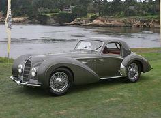 Delahaye 145 Chapron Coupe #cars #vintage #prewar #1938 #1946