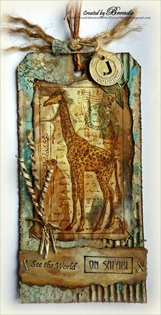 "Tag ""Giraffe"" via Crafty Individuals"