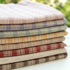 50*70cm 8 colors Dobby pastel color ripstop yarn dyed fabric handwork DIY fabric for patchwork quilts 4pcs/lot-in Fabric from Home & Garden on Aliexpress.com   Alibaba Group
