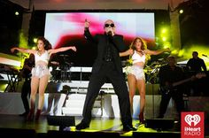 #Pitbull #Performance #Dance #PoolParty ~ Photo by: Getty for #iHeartRadio  — at Fontainebleau Miami Beach.