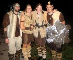 DIY Halloween DIY Costumes: How To Make a Viking Costume: Homemade Viking Costume Ideas