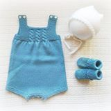 Um conjuntinho tamanho 1-3 meses em stock 😍 #babyclothing #babyclothes  #babyknitwear #babyromper #romper #bonnet #babygirl #babypink #yarn #instaknit #bebé #roupadebebé #fofo #instababy #bonnet #estrela #babyspam#babyboy #babygirl #handmade #booties #carapins #blue #babyboutique #babyfashion #babybooties #mariacarapim #babyboy