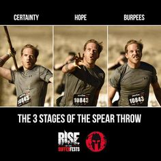 Spartan Race: The 3 Stages of the Spear Throw