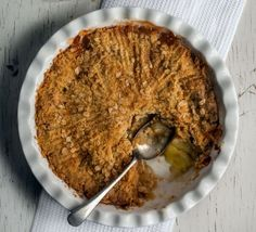 The best apple crumble