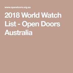 2018 World Watch List - Open Doors Australia