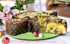 Colomba+con+crema+al+pistacchio+e+cioccolato,+favolosa+senza+lievitazione!