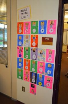 Interactive bulletin board display with student video work & QR Codes for Parent Open House. (Via dandelions dragonflies) Special Education Classroom, Future Classroom, Classroom Bulletin Boards, Classroom Ideas, Spanish Classroom, Classroom Inspiration, Back To School Night, School Opening, School Accessories