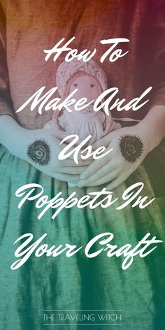 How To Make And Use Poppets In Your Craft // Witchcraft // Magic // The Traveling Witch Magick Spells, Hoodoo Spells, Witchcraft Books, Green Witchcraft, Wiccan Decor, Wiccan Crafts, Magic Crafts, Traditional Witchcraft, Travel Crafts