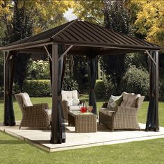 Found it at Wayfair - Dakota 10 Ft. W x 10 Ft. Gazebo