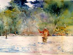 """Fly Fishing,"" by Charles Reid"