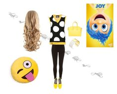 """""""Black and yellow"""" by leakanbar on Polyvore"""