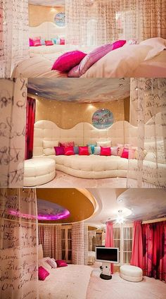 Teen Girl Bedrooms for a terrific relaxing living space topic number 8257813161 - Creative and dreamy styling tips and tricks. Filed under pink teen girl bedroom daughters , created on this date 20190106 Teenage Girl Bedrooms, Girls Bedroom, Teen Rooms, Rich Girl Bedroom, Master Bedrooms, Awesome Bedrooms, Cool Rooms, Cute Room Ideas, Room Ideas For Teen Girls Diy