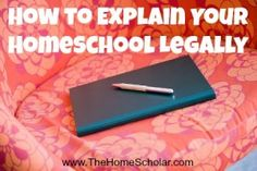 Sometimes it helps to explain the legality of your homeschool, so there will not be misunderstandings or additional questions. This blog post will help you learn how! #homeschool #HomeScholar #homeschoollegally