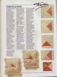 revistas de manualidades gratis Sewing Class, Patches, Quilts, Rag Quilt, Crochet, Tableware, Crafts, Log Cabins, Ideas