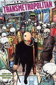 Transmetropolitan - Probably my favourite comic I've ever read. Warren Ellis' best work, in my opinion. http://www.vertigocomics.com/search?keyword=transmetropolitan