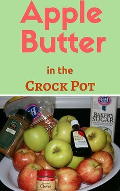Apple Butter is absolutely delicious and it's just so easy to make from scratch by using your slow cooker. Feel free to customize the sugar content to your own taste -- this is a base recipe for you to experiment with!