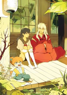 Inuyasha and kagome