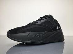 Adidas Yeezy Wave Runner 700 B75576 Triple Black Real Boost #36-47