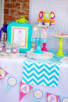 Glamping Party via Kara's Party Ideas Kara'sPartyIdeas.com #Camping #Sleepover #Party #Ideas #Supplies (12)