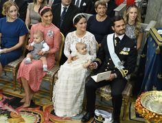 doop Alexander van Zweden 9-9-2016. The Christening of Prince Alexander of Sweden.