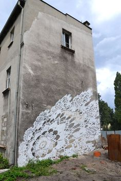 Murals by NeSpoon , via Behance