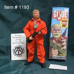 GI Joe.  Not a doll.  An Action Figure.