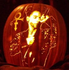 Could this possibly be the coolest pumpkin ever? I think it may be!