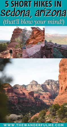 5 Fantastic Short Hikes in Sedona that'll Blow Your Mind