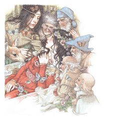 Snow White by Anne Yvonne Gilbert ~ fairytale art