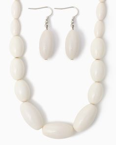 charming charlie   Beverly Bauble Necklace Set   UPC: 450900341466 #charmingcharlie