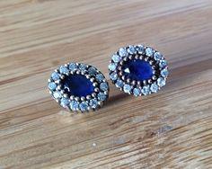Grand Bazaar Turkish Sapphire Earrings    eBay