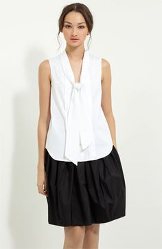 Jason Wu Tie Neck Blouse available at #Nordstrom