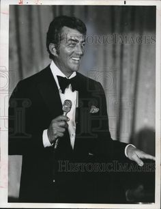 Press Photo Dean Martin American Actor and TV Personality  - cvp73029