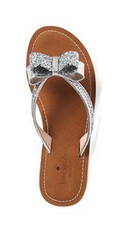 Kate Spade bow sandal