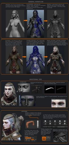 ArtStation - Realtime Character - based Juhan Na's Concept Art, Danilo Athayde