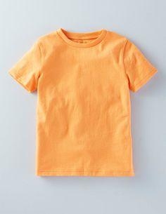 Favourite Super Soft T-shirt sherbet orange $16.50