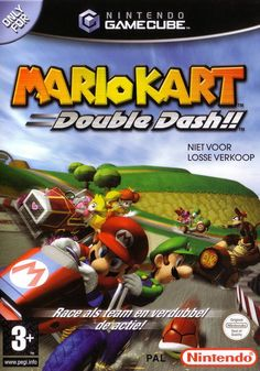 Mario Kart Double Dash. It didn't revolutionize the Mario Kart franchise like many hoped it would, but the improvements here go beyond surface deep. The character and vehicle selection is huge, the new weapons are appropriately insane complements to returning classics, and the tracks themselves have never been this diverse.