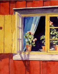 Nancy LaBerge Muren Watercolor