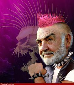 Punk Sean Connery