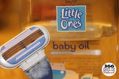 Make Your Razor Last Longer with Baby Oil
