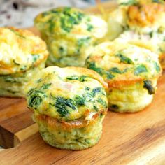 Egg, Spinach, Ham & Cheese Cups, perfect for yummy breakfast.