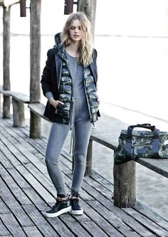 Looks Sporty Chic invierno 2015 Paula Cahen D'Anvers.