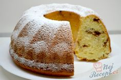 Czech Recipes, Ethnic Recipes, Bunt Cakes, Easy Desserts, Cornbread, Vanilla Cake, Doughnut, Sweet Recipes, Deserts
