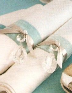Tamryn Kirby: Delicious Details - Ribboned Napkins